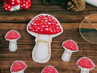 Amanita muscaria stickers
