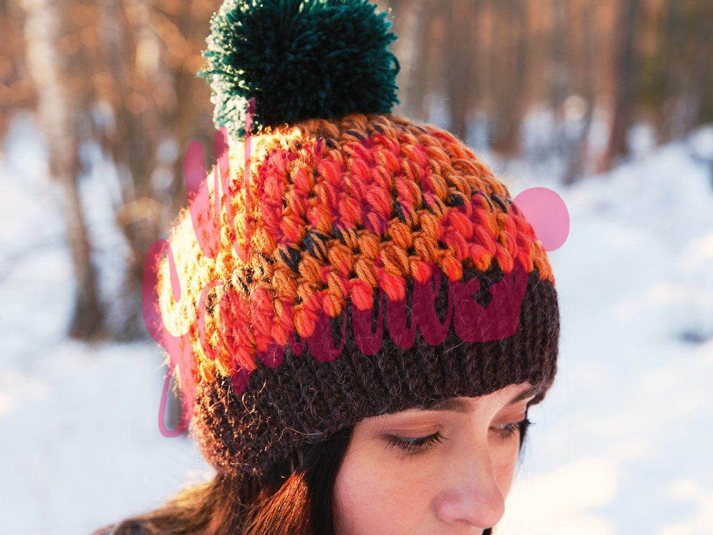 custom vegan knit hat by warmsquirrel