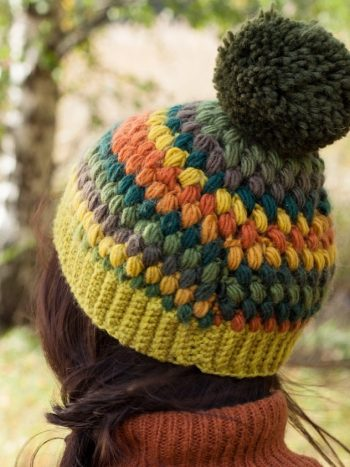 pompom beanies for the winter