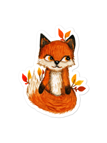 WarmSquirrel Fox Transparent Mockup Default Default X