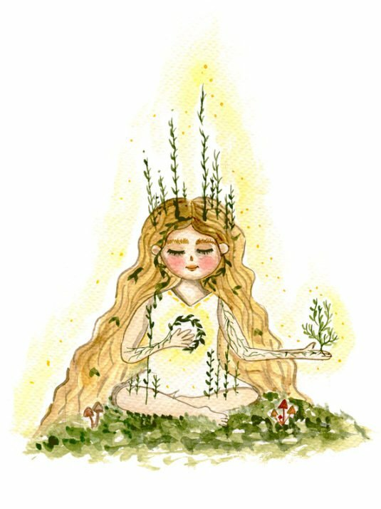 WarmSquirrel Meditating Girl By Warmsquirre Jennifer Ramirezl