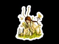 WarmSquirrel Moth Girl Transparent Mockup Default Default X