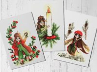 christmas-postcard-set-by-warmsquirrel