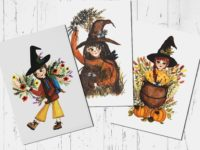 witch-postcard-set