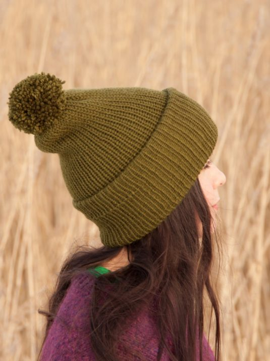 Vegan beanie by warmsquirrel