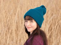 WarmSquirrel Beanie Knitted Royal Blue