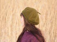 Vegn beret in mustard by warmsquirrel