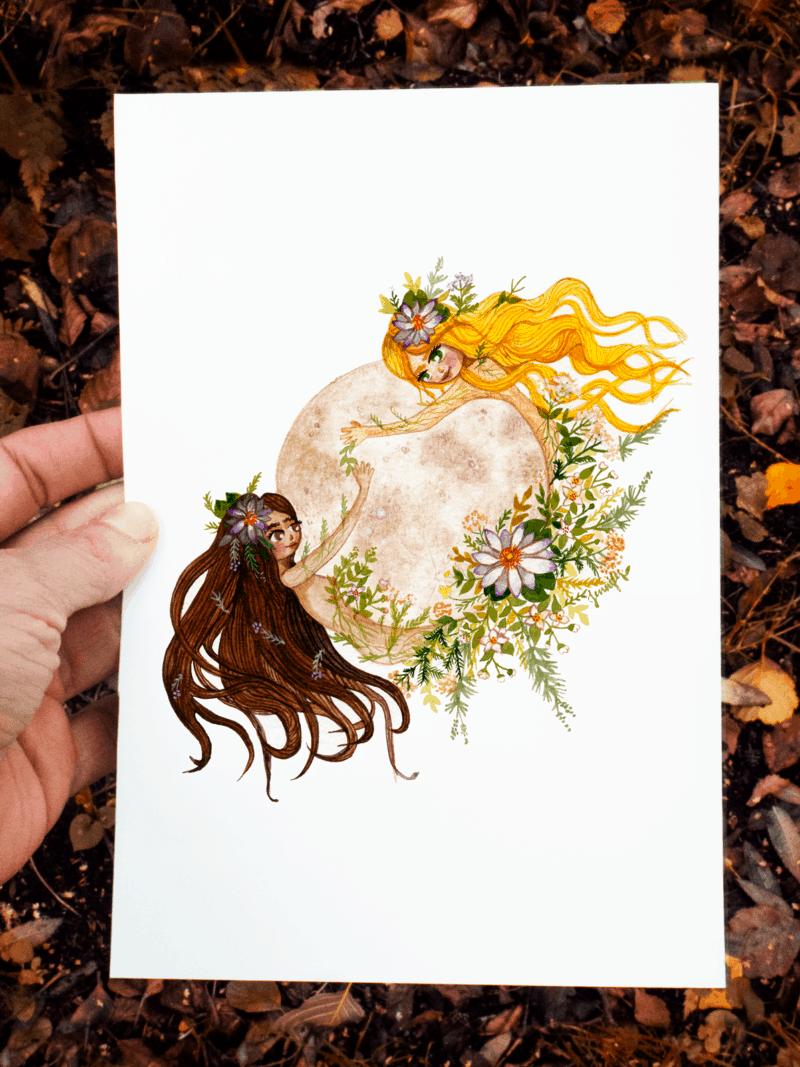 Moon Women By  Jennifer Ramirez