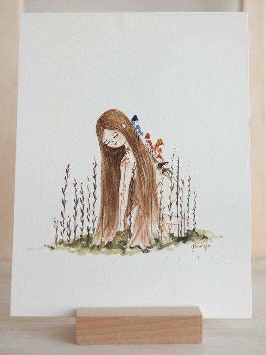 WarmSquirrel Jennifer Ramirez Watercolor Paintings