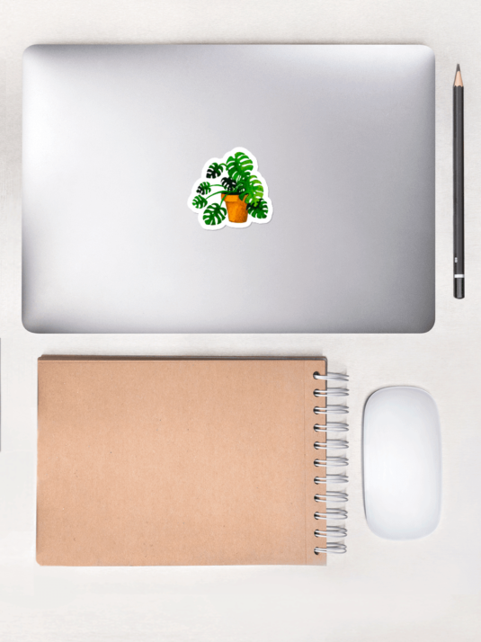 WarmSquirrel Monstera Individual Picture Mockup Lifestyle Lifestyle X