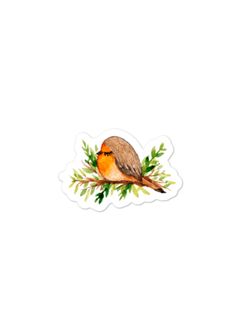 WarmSquirrel Bird Individual Sticker Mockup Default Default X