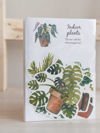 Indoor plants sticker pack