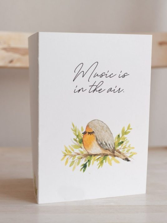 WarmSquirrel Sleepy Animals Postcards Bird