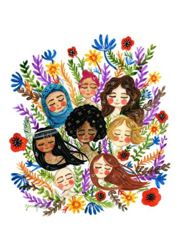 Painting of Women Of All Race And Colour