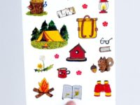WarmSquirrel Camping Sticker Set Front Image Cropped