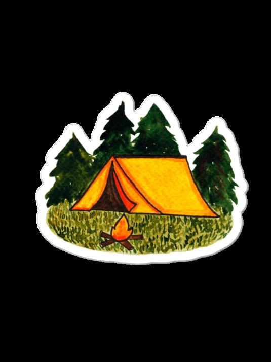 WarmSquirrel Tent Sticker Mockup Default Default X