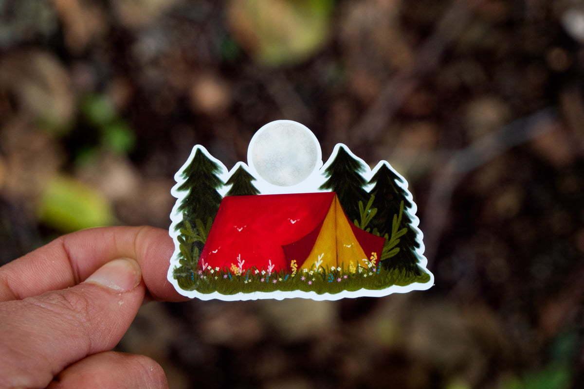 WarmSquirrel Camping Essentials Front By Jennifer Ramirez Warmsquirrel