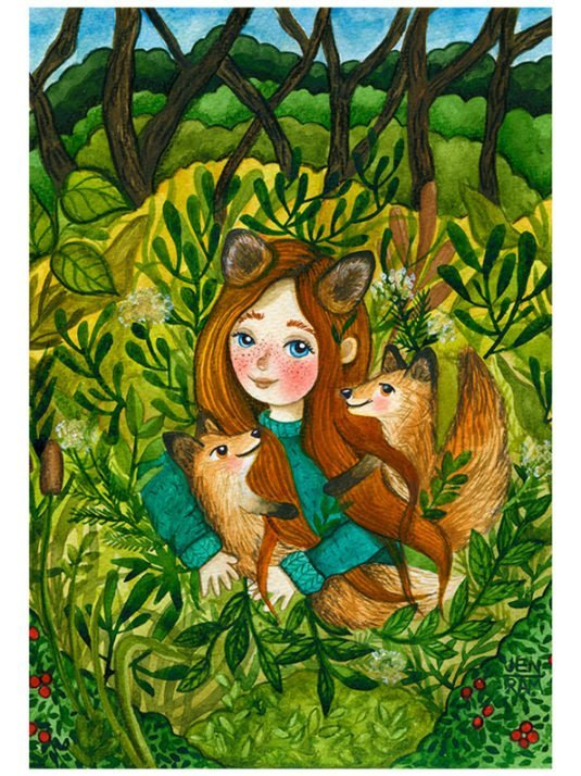 WarmSquirrel Foxtaleby Jennifer Ramirez Warmsquirrel