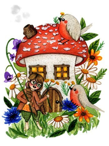 WarmSquirrel Amanita House By Jennifer Ramirez Warmsquirrel Front Photo