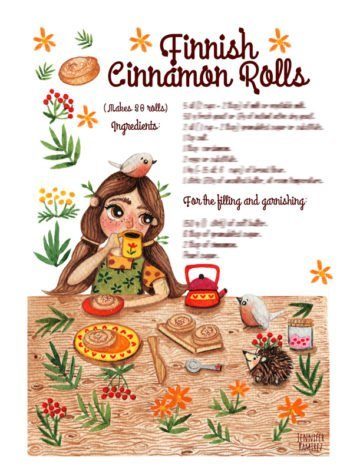 WarmSquirrel Finnish Cinnamon Rolls Recipe By Warmsquirrel Jennifer Ramirez Front