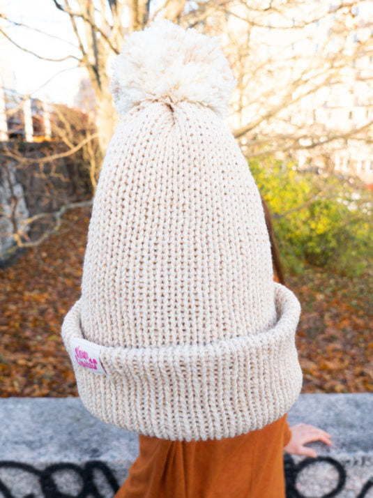 WarmSquirrel Vegan Beanie Recycled Pet And Recycled Cotton Yarn