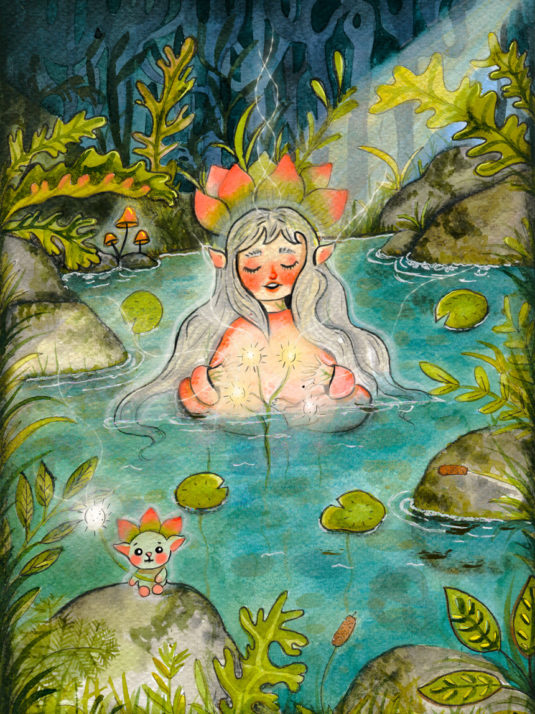 WarmSquirrel Water Fairy By Warmsquirrel Jennifer Ramirez