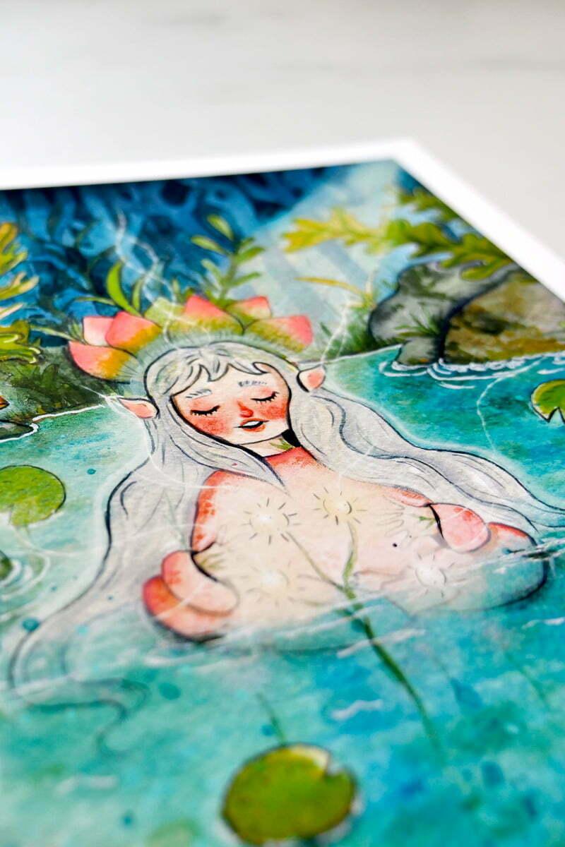 WarmSquirrel Water Fairy By Warmsquirrel Jennifer Ramirez