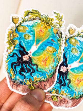 WarmSquirrel Floating Sticker By Warmsquirrel